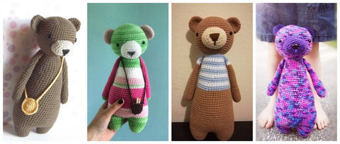 LBC Crochet Contest Highlights Bears 1