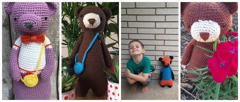 LBC Crochet Contest Highlights Bears 2
