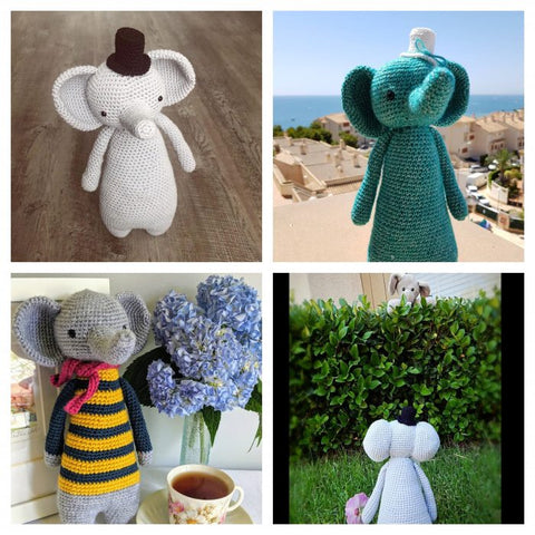 LBC Crochet Contest Highlights Elephants