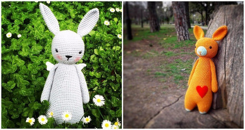 How to personalize an amigurumi pattern customized rabbit