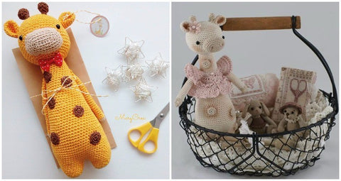 How to personalize an amigurumi pattern customized giraffe