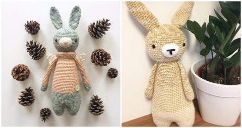 How to personalize an amigurumi pattern another customized rabbit