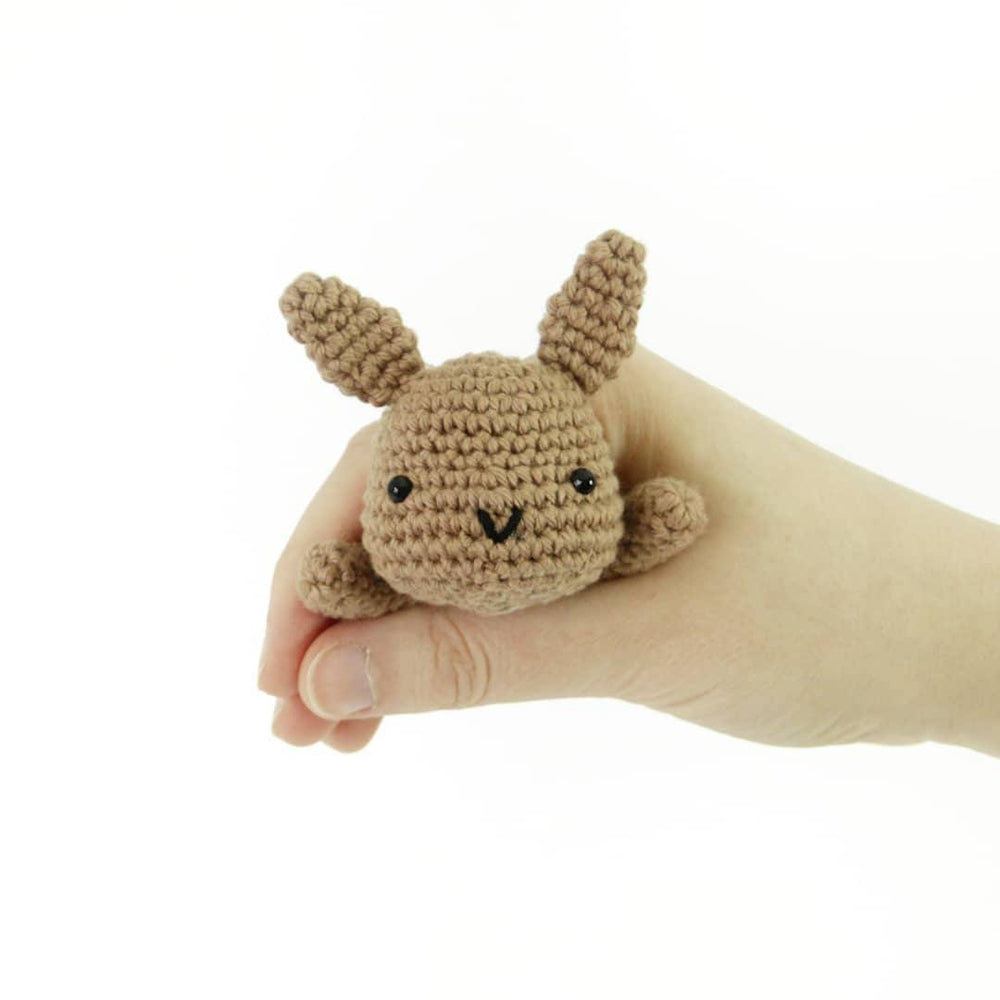 Lazy Bunny PDF Amigurumi Crochet Pattern - Little Bear Crochets