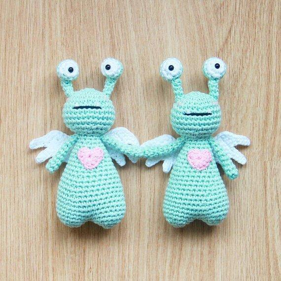 Amor the Monster PDF Amigurumi Crochet Pattern - Little Bear Crochets