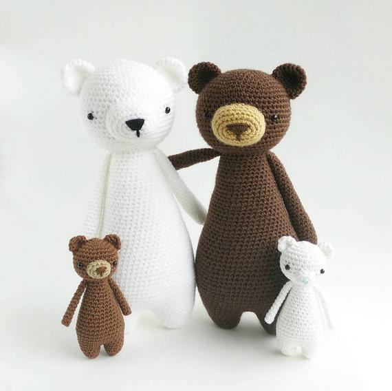 Bear PDF Amigurumi Crochet Pattern - Little Bear Crochets