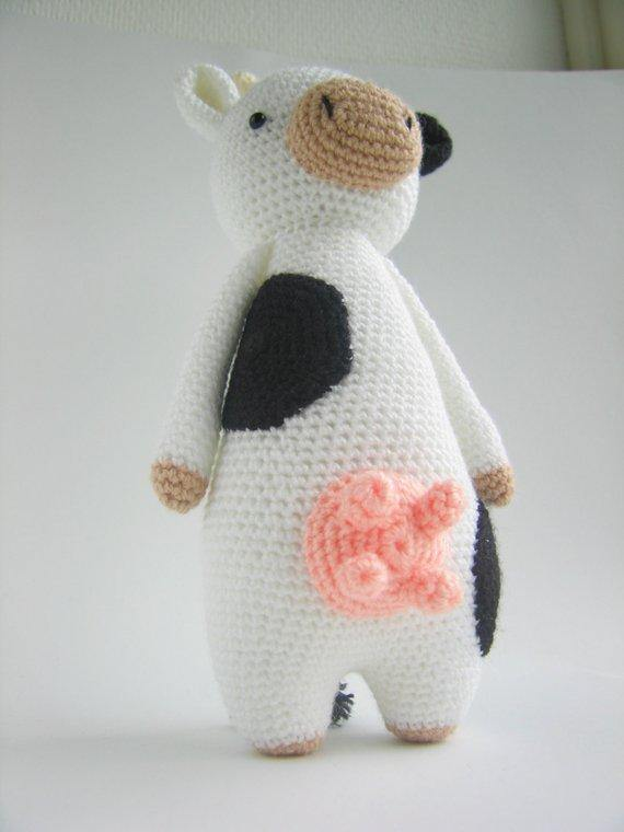 Cow PDF Amigurumi Crochet Pattern - Little Bear Crochets
