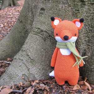 Fox PDF Amigurumi Crochet Pattern - Little Bear Crochets