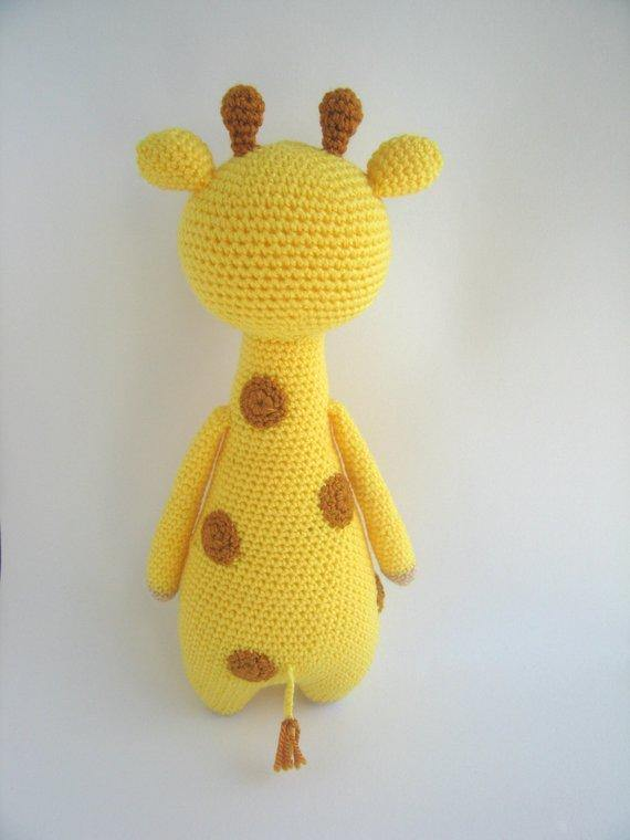 Giraffe PDF Amigurumi Crochet Pattern - Little Bear Crochets