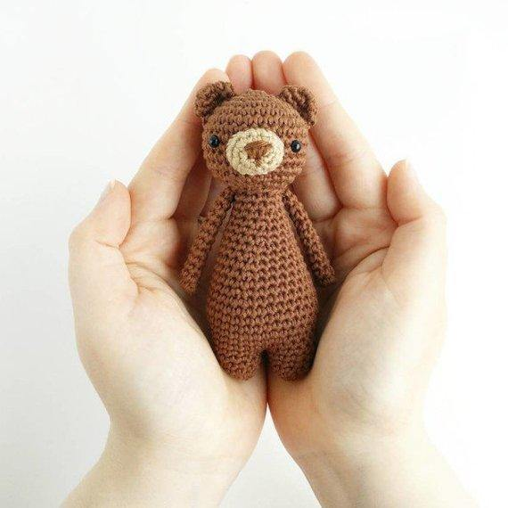Mini Bear PDF Amigurumi Crochet Pattern - Little Bear Crochets
