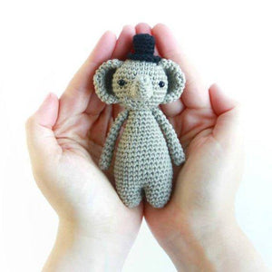 Mini Elephant PDF Amigurumi Crochet Pattern - Little Bear Crochets