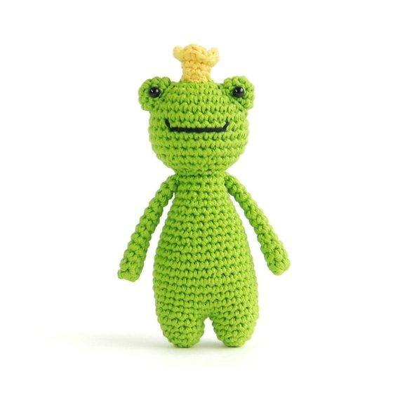 Mini Frog PDF Amigurumi Crochet Pattern - Little Bear Crochets