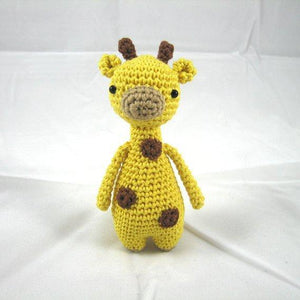 Mini Giraffe PDF Amigurumi Crochet Pattern - Little Bear Crochets