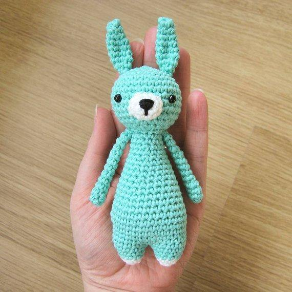 Mini Rabbit PDF Amigurumi Crochet Pattern - Little Bear Crochets