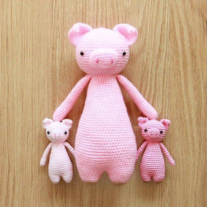 Pig PDF Amigurumi Crochet Pattern - Little Bear Crochets