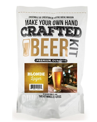 Crafted Beer Blonde Lager