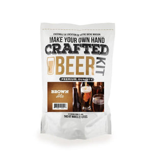 Crafted Beer Brown Ale