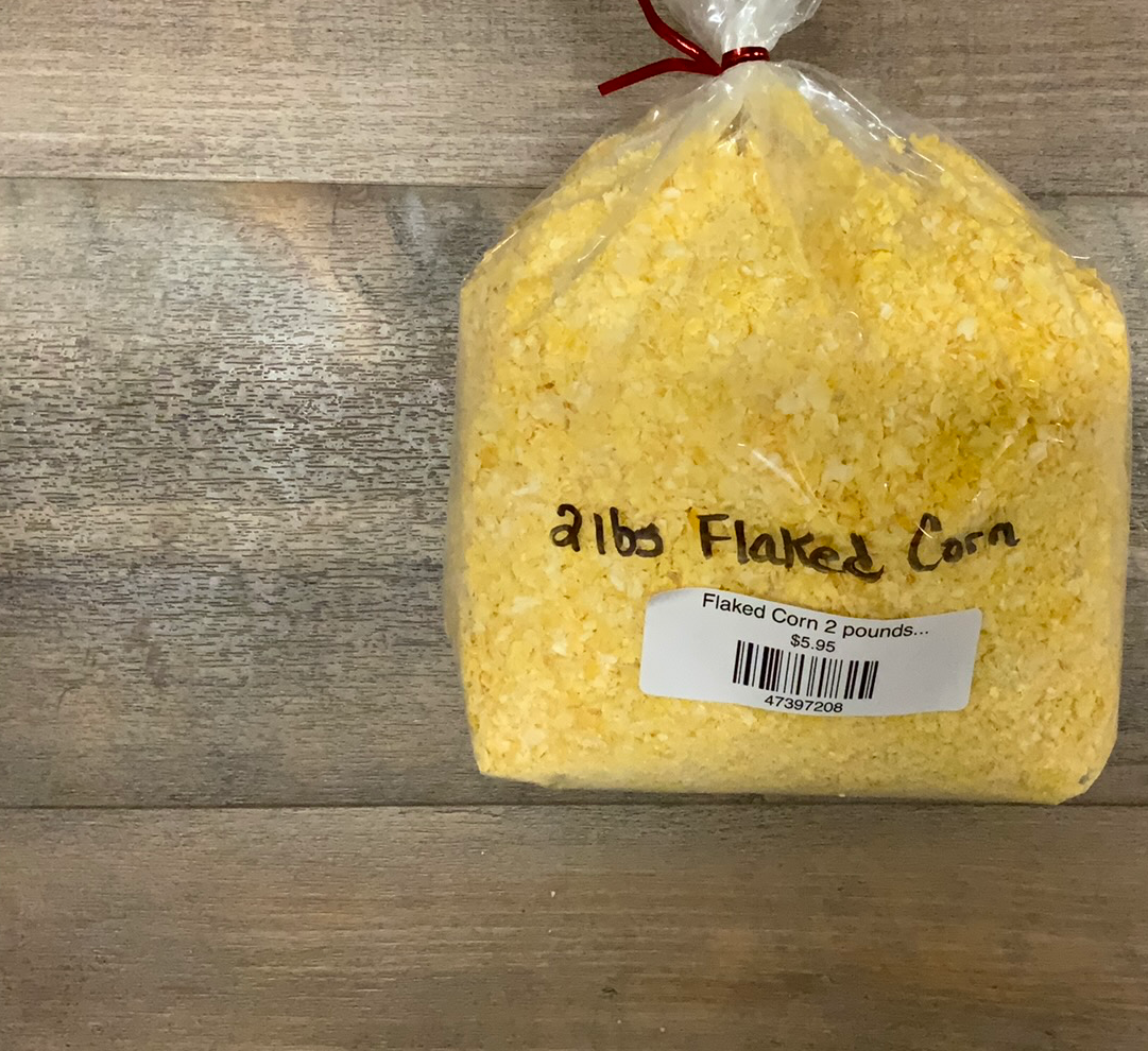 Flaked Corn 2 pounds...