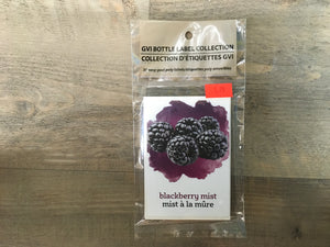 Blackberry label