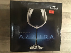 Azzura 4 Wine Glasses 16 oz