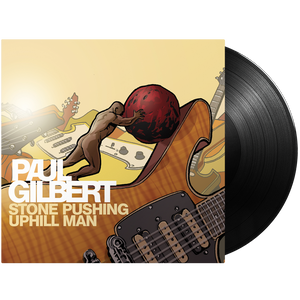 Stone Pushing Uphill Man - Mascot Label Group