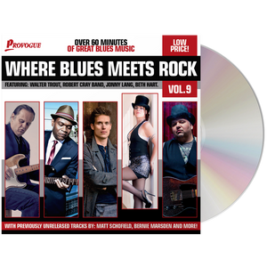 Various Artists-Where Blues Meets Rock 9 CD-Mascot Label Group