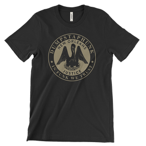 Dumpstaphunk Justice T-Shirt (Black) - Mascot Label Group