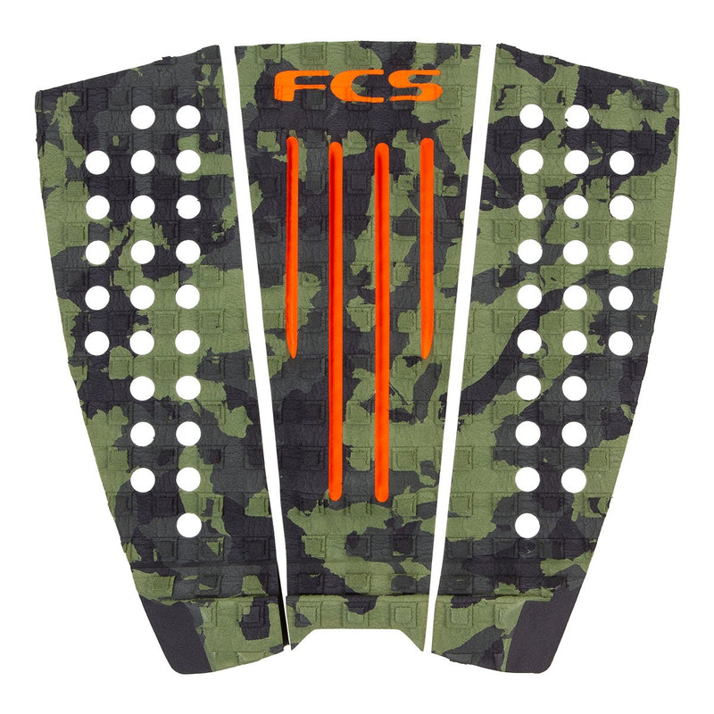FCS Julian Wilson Traction Pad - Olive Camo
