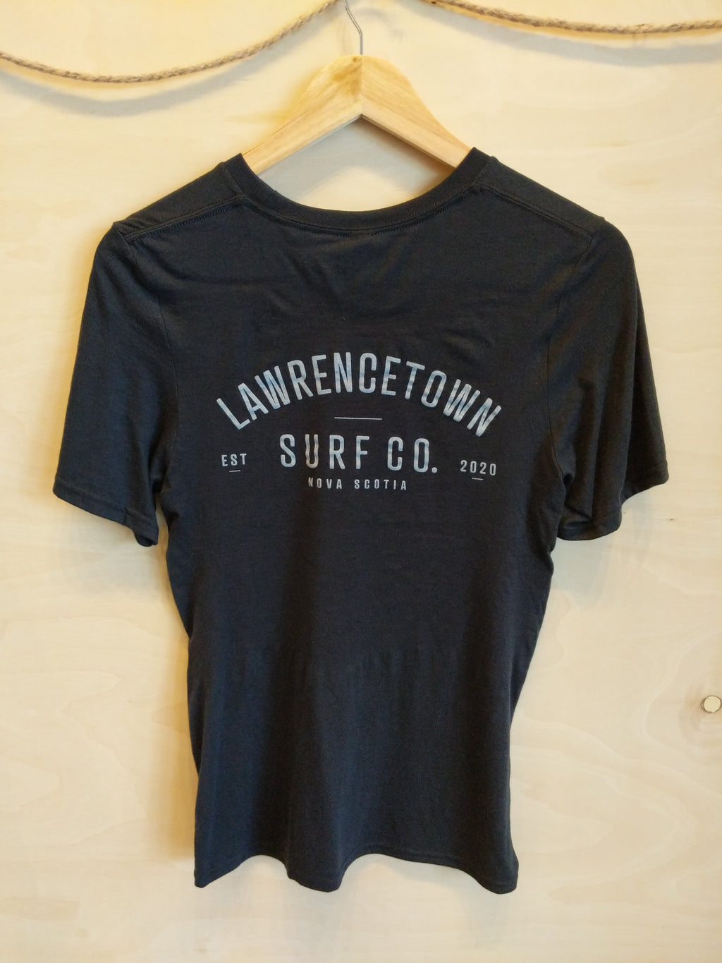 Lawrencetown Surf Co. Adult Tee - Black / White