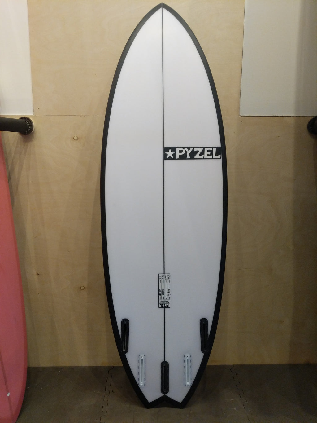 Pyzel Surfboards - The Gremlin 5'6 Swollow Tail