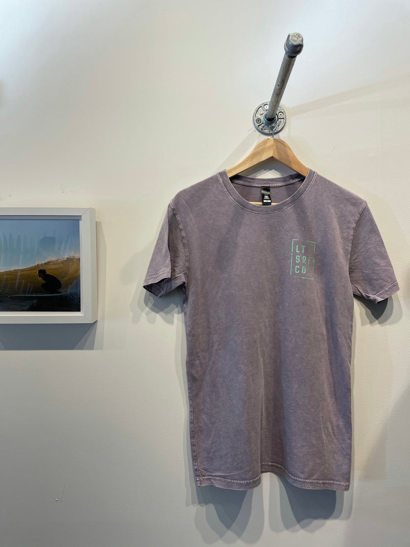 Lawrencetown Surf Co. Premium Tee - Purple / Neon