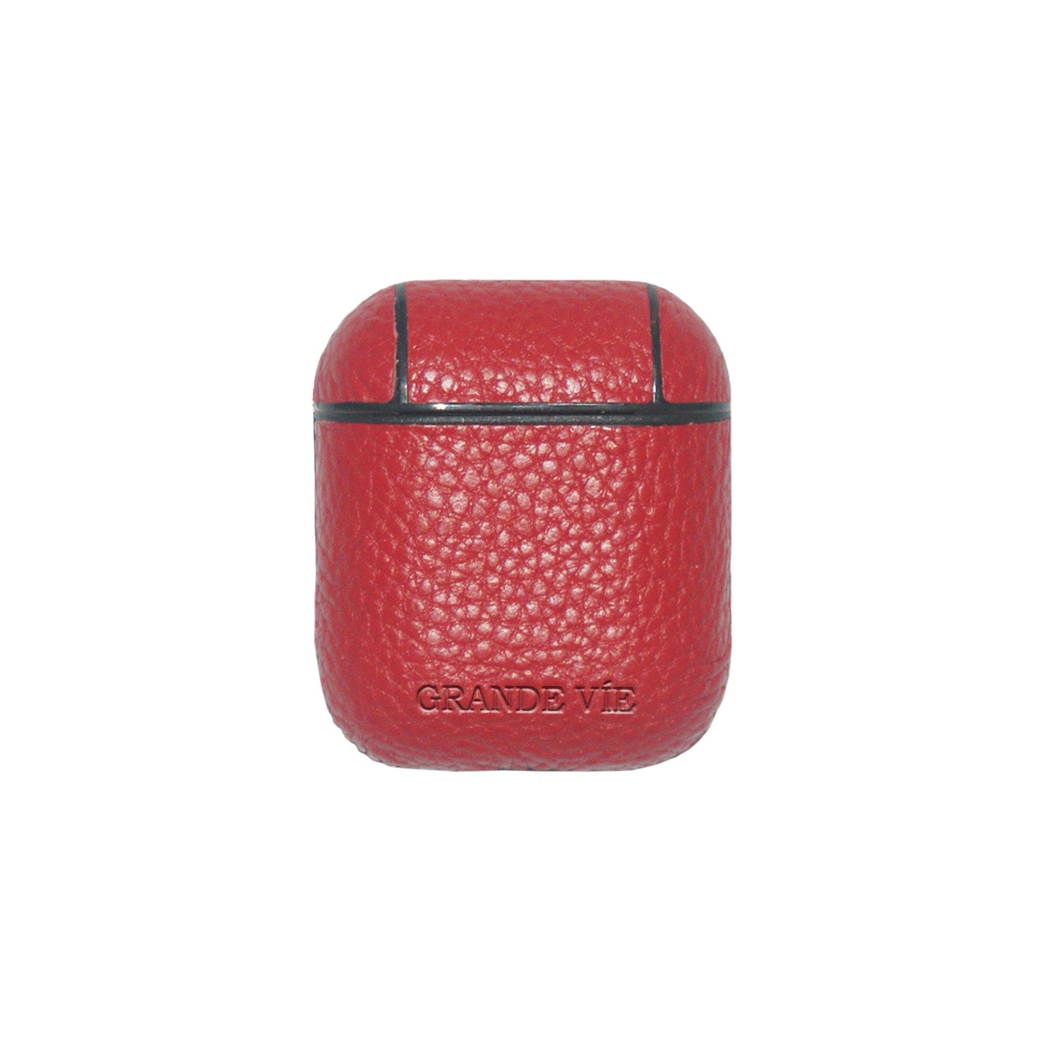 Red Aster Airpods Case