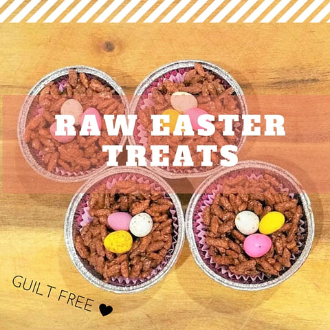 Raw Easter Treats