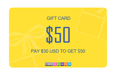 Pay $30 only to get a $50 gift card