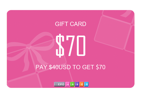 Pay $40 only to get a $70 gift card