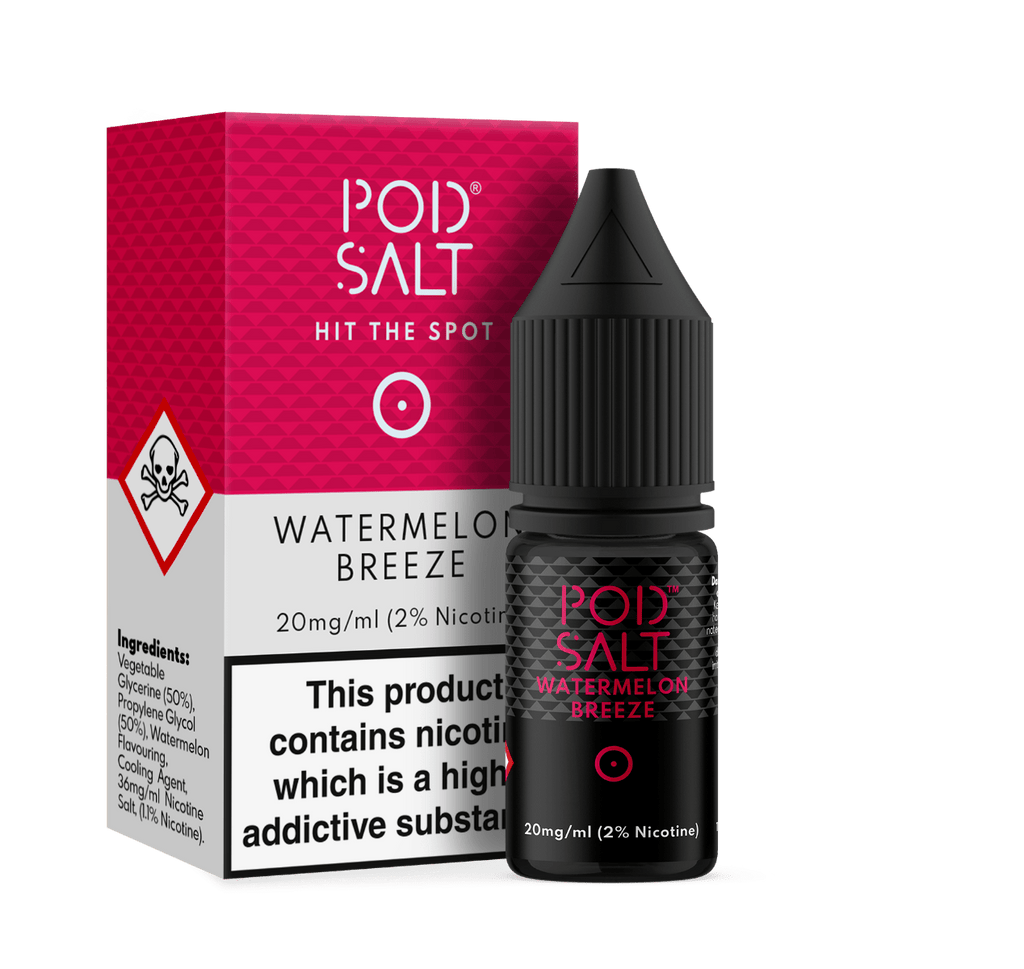 POD Salt - Watermelon Breeze Vape E-Liquid Online | Vapeorist
