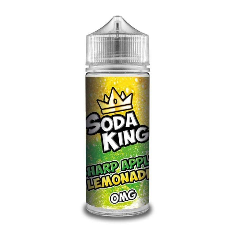 Soda King 120ml - Sharp Apple Lemonade Vape E-Liquid | Vapeorist