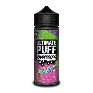 Ultimate Puff Candy Drops 120ml Rainbow Vape E-Liquid | Vapeorist