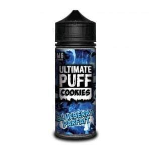 Ultimate Puff Cookies 120ml - Blueberry Parfait