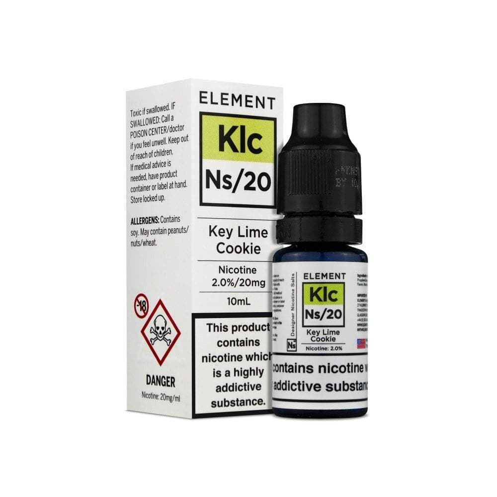 Buy Element Nic. Salts - Key Lime Cookie Vape E-Liquid | Vapeorist
