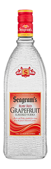 Seagram's Vodka Ruby Red Grapefruit Flavored Vodka 70 Proof 750 ML