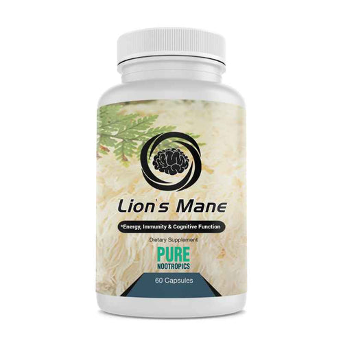 Lions Mane 60 Caps Dietary Supplement