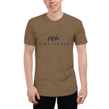 Lift Heavy Mountain Tri-Blend Shirt