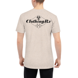 Quarantine Garage Gym Unisex Tri-Blend Shirt