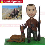 Figurine Personnalisée<br> Chasse
