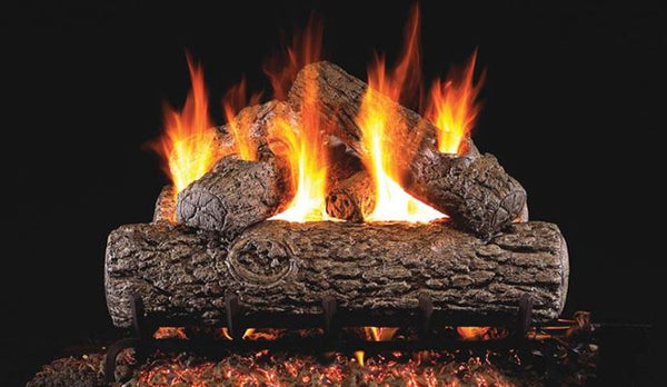 Golden Oak Gas Logs
