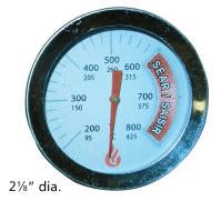 Heat Indicator for BBQ Tek, Charbroil, and others