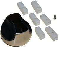 Plastic Control Knob for Bakers & Chefs, BBQ Grillware, and Charbroil