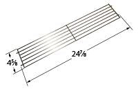 Chrome Steel Wire Warming Rack for Weber Brand Gas Grills