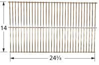 Chrome Steel Wire Cooking Grid for El Patio Brand Gas Grills