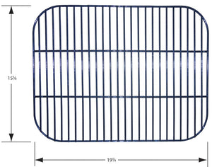 Porcelain Steel Wire Cooking Grid for Brinkmann Brand Gas Grills